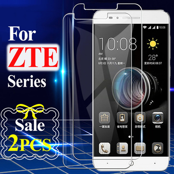 Screen Protector for Blade V10 V9 Vita 9H HD Protective Glass for Blade V8 Mini V7 Lite V6 Tempered Glass for ZTE Blade X5 X3 image