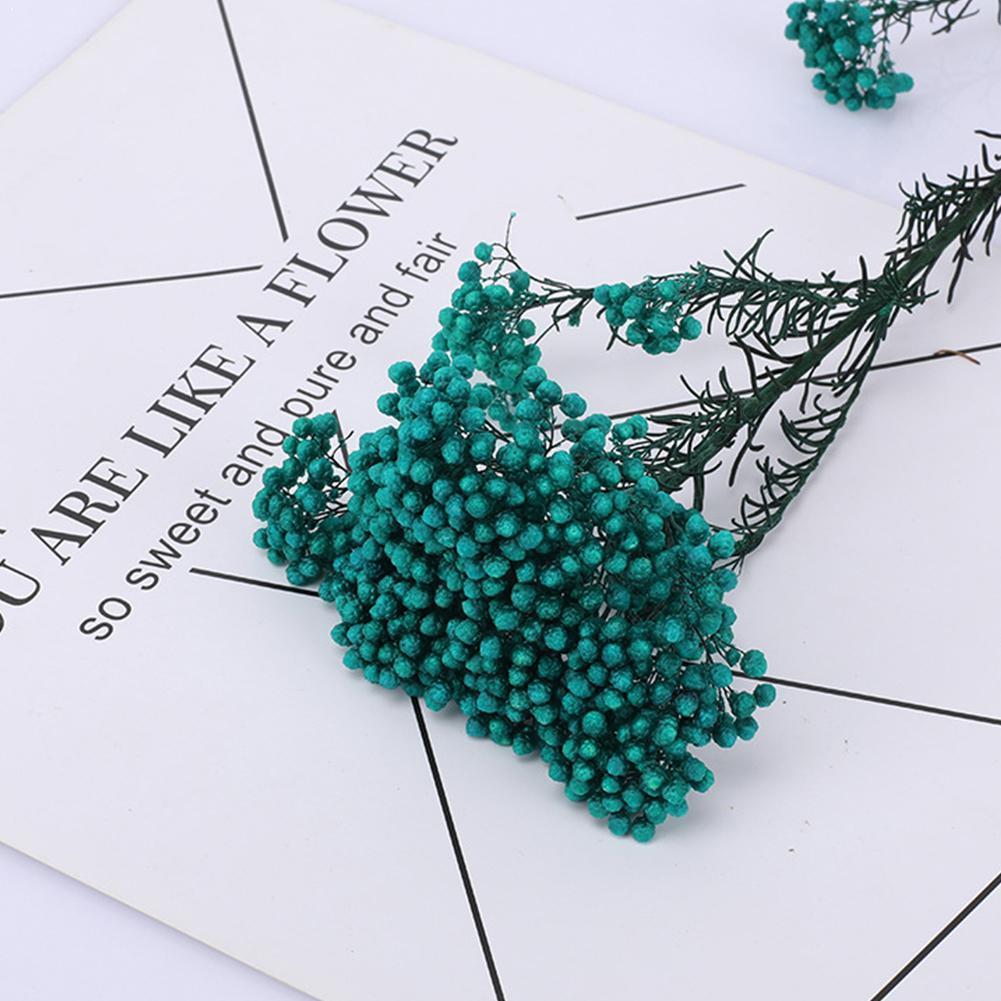 Eeuwige Bloem Boeket, Boeket Gedroogde Flowersdiy Materiaal Decor Bruiloft Q6Z0