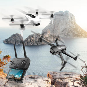 Hubsan Gimbal Camera GPS Quadcopter Rtf Rc Drone UHD Foldable 3-Axis Zino with 4K High-Speed