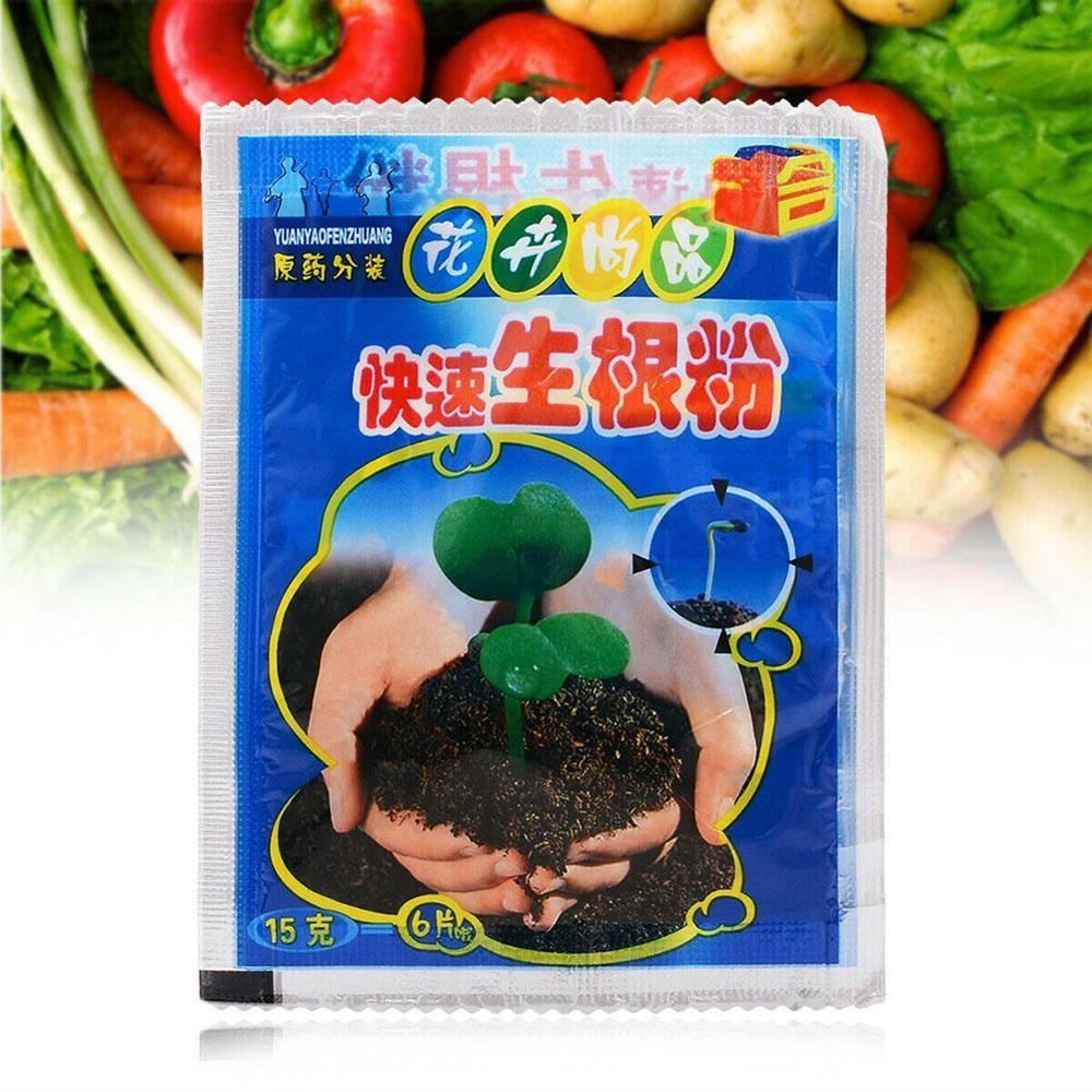 Plant Rapid Growth Root Medicinal Hormone Regulators Growing Seedling Recovery Germination Vigor Aid Fertilizer Garden