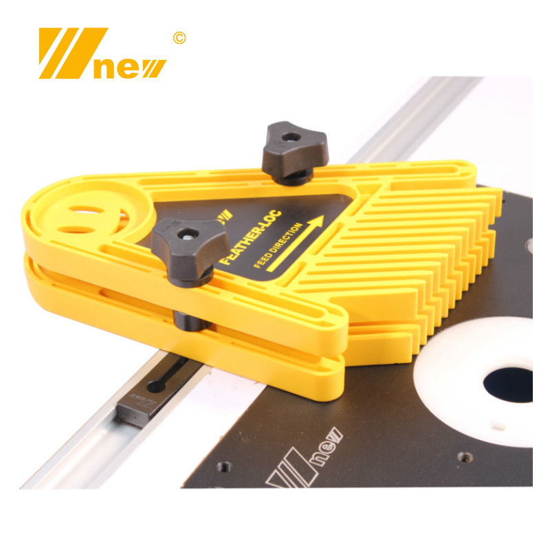 Multi-purpose Feather Loc Board Set Double Featherboards Miter Gauge Slot Woodworking Saw Table DIY Safety Tools