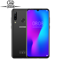 DOOGEE N20 Android 9.0 4G Mobile phone 4GB RAM 64GB ROM Fingerprint 6.3 Display 16MP Triple Camera phones Octa Core Cell phone