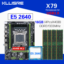 Chipset Xeon DDR3 E5 2640 Usb3.0set Kllisre X79 with C2 4x4gb--16gb/1333mhz/Ddr3 ECC