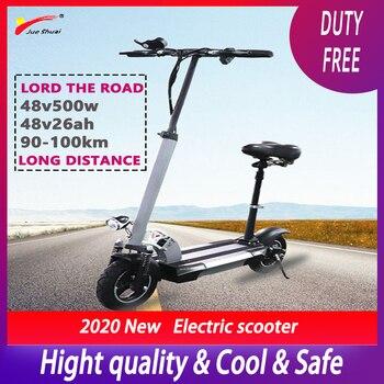 Patinete eléctrico para Adulto, 500W, 48V, batería de litio