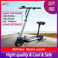 Electric Scooter 500W 48V Electric Scooter Lithium Battery Scooter Skateboard Patinete Electrico Adulto E Scooter Motor Electric