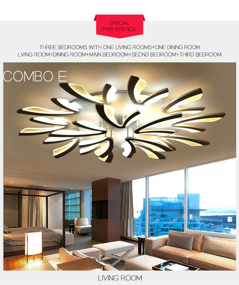 H9889e2907680450b8507fae9fe01be2fR LED Ceiling Lights Dandelion Indoor Ceiling Lamp Modern Simple Post-Modern Living Room Bedroom Dining Room Study Room
