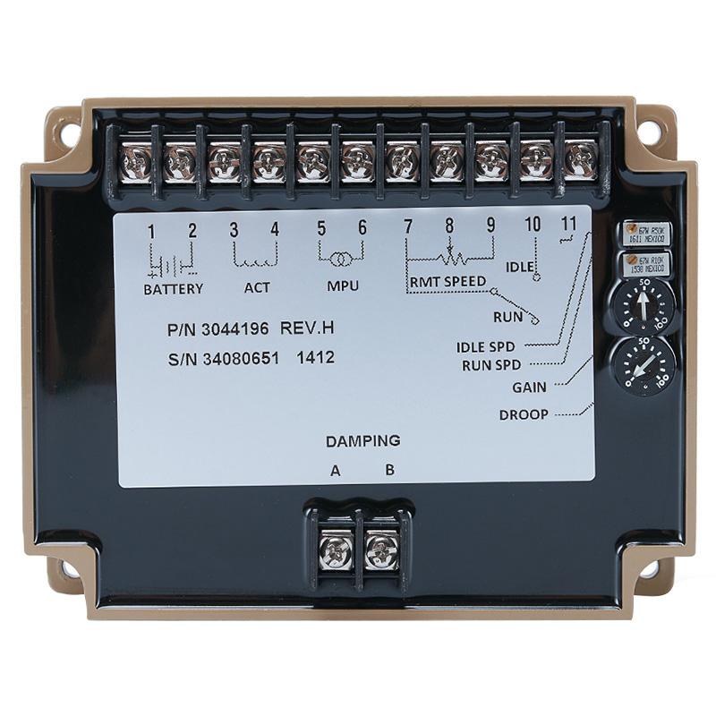 Engine Governor 3044196 Generator Set Speed Controller Electronic Circuit Board Regulator For Motor Alternator Genset