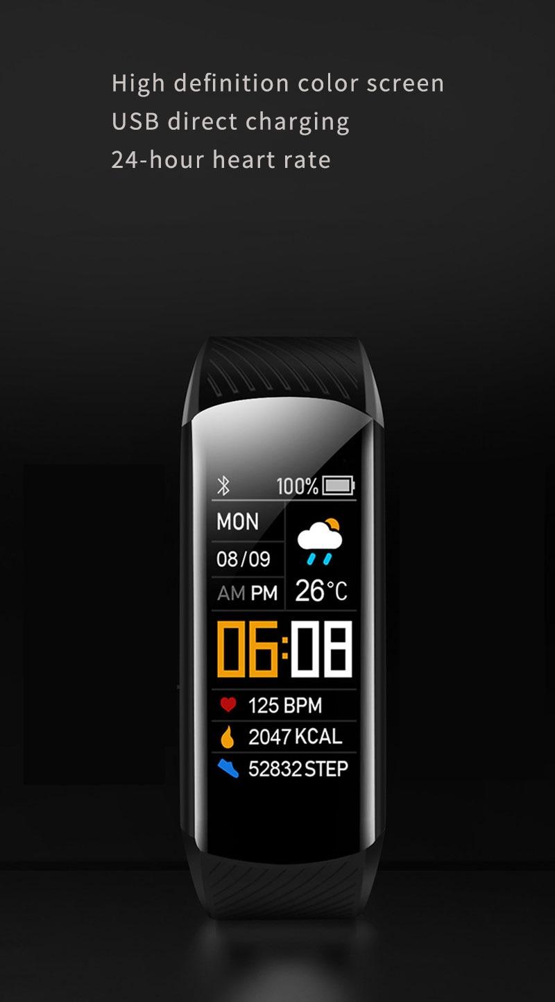 5 Pçs lote Inteligente Pulseira Smartband Oled