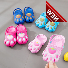 Cartoon Claws Of Patterned Bears; Summer Childrens Waterproof Shoes Girl Vietnamese Family Boy Beach Sandals