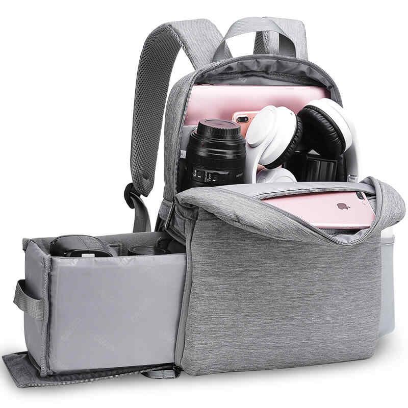 CADeN L4 dslr camera bag waterproof backpack shoulder Laptop digital camera & lens photograph luggage bags case for Canon Nikon