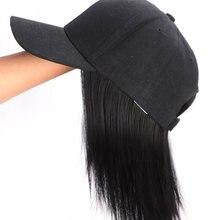 "Короткий парик из синтетических волос onyx 8 ""поп бейсболка"