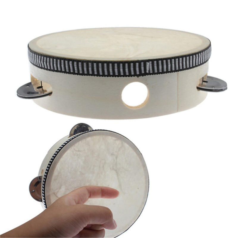 6 Inch Children Mini Drum Kids Early Educational Musical Instrument Baby Toys Beat Instrument Girls Boys Dance Hand Drum Toys