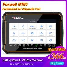 Foxwell GT60 OBD2 Xe Chuyên Nghiệp Công Cụ Chẩn Đoán Đầy Đủ Hệ Thống ABS SRS DPF EPB 19 Đặt Lại Dịch Vụ ODB2 OBD2 Ô Tô máy Quét