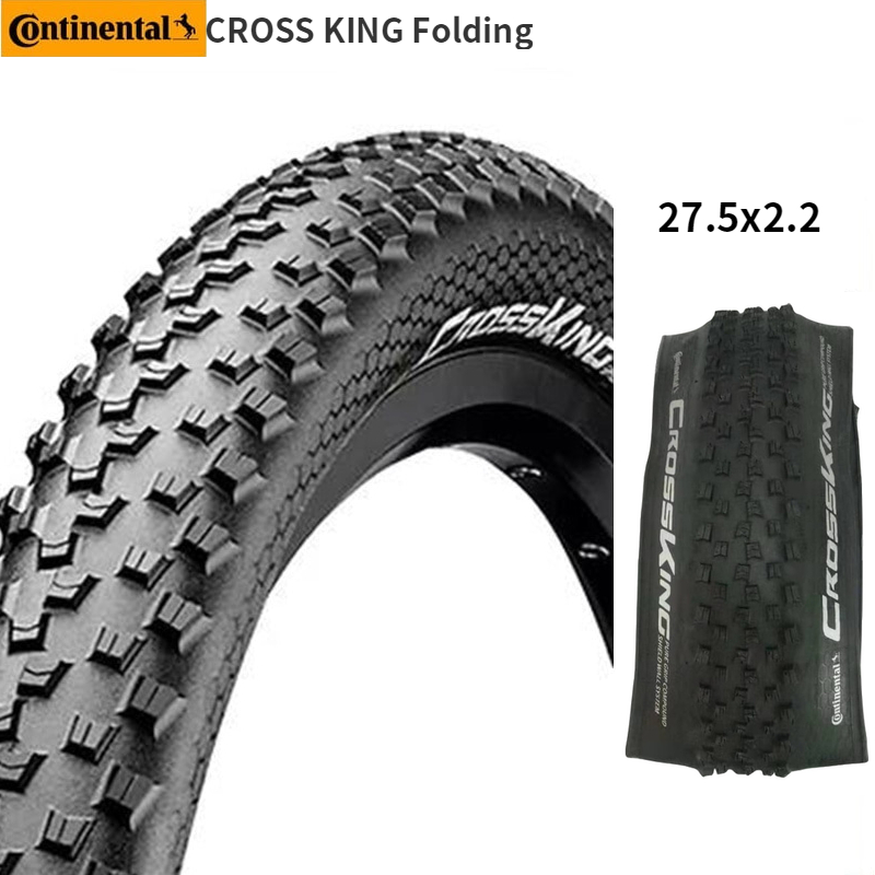 27,5/×2,15/´/´ Continental Cross King 2.2 Protection Fahrrad Reifen //// 55-584 650B
