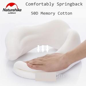 Naturehike Memory Cotton Neck Pillow Cervical Vertebra Travel Portable Noon Break Aircraft U Type Of Pillow Sleep Camping Pillow