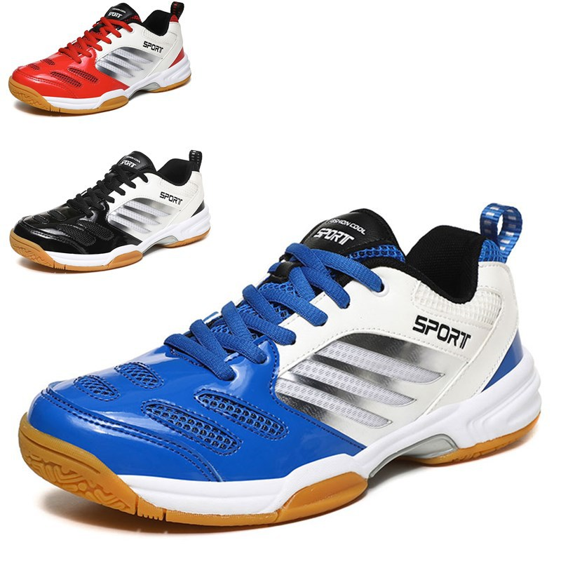 Professional Volleyball Shoes For Men Women Anti Slip Indoor Sport Training Sneakers Damping Badminton Tennis Shoes Big Size
