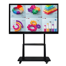 цена weier 65 inch LCD Smart Whiteboard Infrared Multi Touch Screen Led Interactive display screen TV онлайн в 2017 году
