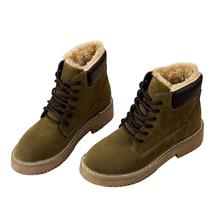 Fujin Women Snow Boots Warm Dropshipping Winter New Female Shoes In The Tube Cotton
