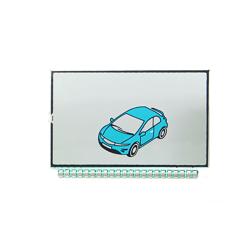 LCD Display for CENMAX ST-7A Russian LCD remote control for CENMAX ST 7A LCD keychain car remote 2-way car alarm system