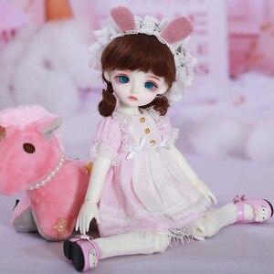 Image 4 - LCC Chloe fullset anzug 1/6 BJD SD Puppe Modell Jungen oder Mädchen Oueneifs yosd napi luts littlefee Spielzeug Mädchen Geburtstag weihnachten