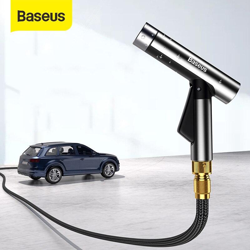 Baseus Car Washing Gun Sprayer Nozzle Magic Flexible Hose Car Water Gun High Pressure Power Washer Garden Water Jet