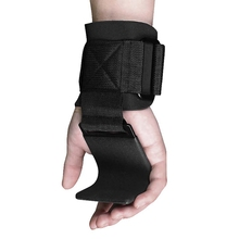 Weight Lifting Wrist Support With Hook Anti-slip Gym Arms Strength Training Strap Grip