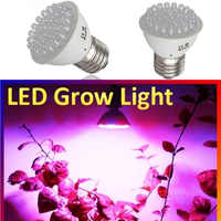 100% Brand New Grow Lights E27 38 LED 1.9W 220V Red Blue Plant Grow Light Bulb Home Garden Indoor Hydroponic Lamp
