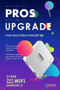 Image 3 - 2019 NEW VERSION UPROS ubox ProS  PROS OS Oversea version HDMI 2.0  TV box Android 7.0 2GB+32GB