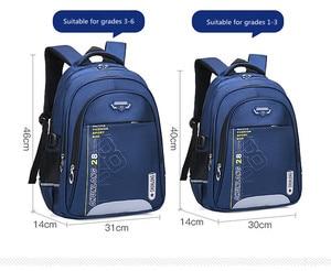 Image 3 - Новые детские школьные ранцы для девочек и мальчиков, школьный рюкзак, черные школьные ранцы, рюкзаки для начальной школы, детские большие школьные рюкзаки