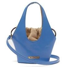 Jacquemus – Sac à Main fourre-tout en cuir Pu pour femmes, petit Sac seau de luxe, sacs de styliste en Composite à bandoulière