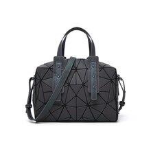 Abay новая Геометрическая ромбическая женская сумка светящаяся складная сумка модная женская сумка через плечо