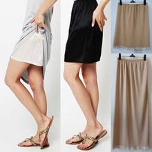 Summer Sexy Intimates Women Casual Underskirts Ladies Basic Mini Skirt Underdress Loose Half Slips Petticoat