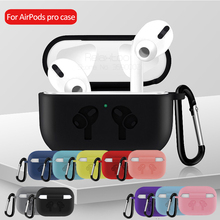 Silicone case For AirPods Pro tws 2019 Wireless Bluetooth earphones Shockproof cover For air pods 3 Ultra Thin protective funda