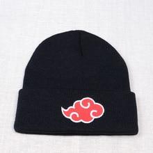 Beanies Naruto Winter Hat Skullies Anime Japanese Women Unisex-Cap Knitted Casual