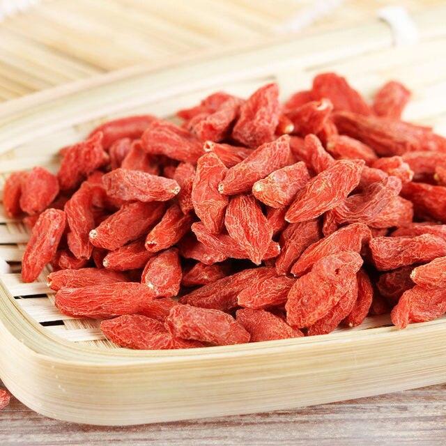 סיני אטד מיובש אורגני Goji ברי טהור טבעי אדום Goji