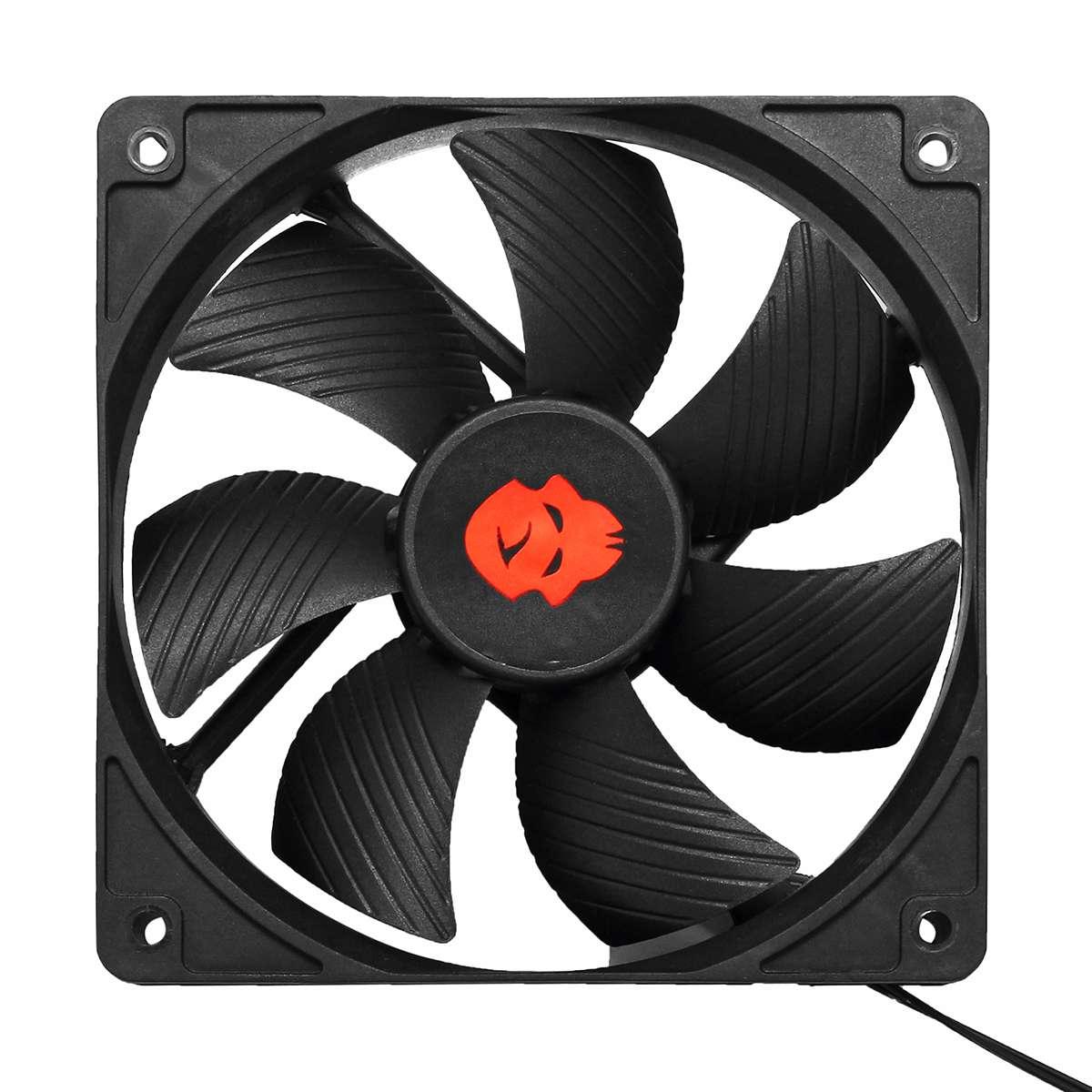 12V 4 Pin CPU PC Computer Case Fan 120mm High Speed Dual Ball Bearing Cooling Fan Heatsink Laptop Fans Accessories 3000RPM