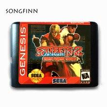 Nuovo Arrivo 16 bit MD Scheda di Memoria per il Sega Mega Drive per SEGA Genesis Megadrive Street of Rage 2 streeter edizione