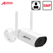 ANRAN 5MP IP Camera WIFI Security Camera 1920P Outdoor Surveillance Camera CCTV Camera Two Way Audio Waterproof Night Vision APP