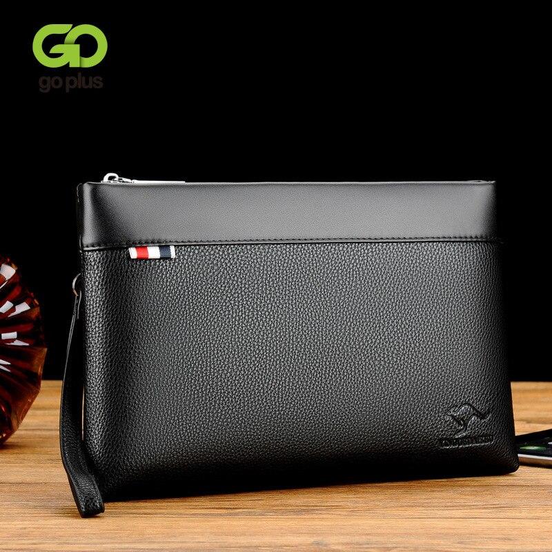 Женский клатч GOPLUS, сумка-конверт, портфель, ручная сумка, удобный мягкий вместительный модный кошелек из искусственной кожи для деловых люд...