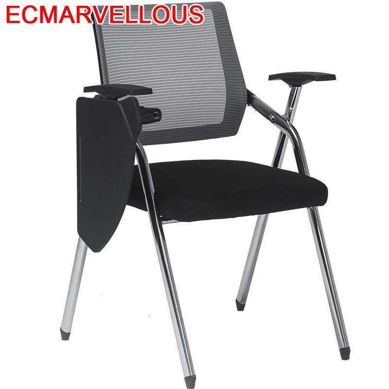 Training Institution Jefe Alta Calidad Meeting Sedie Moderne Pieghevoli Silla Oficina Board Folding Office Conference Chair
