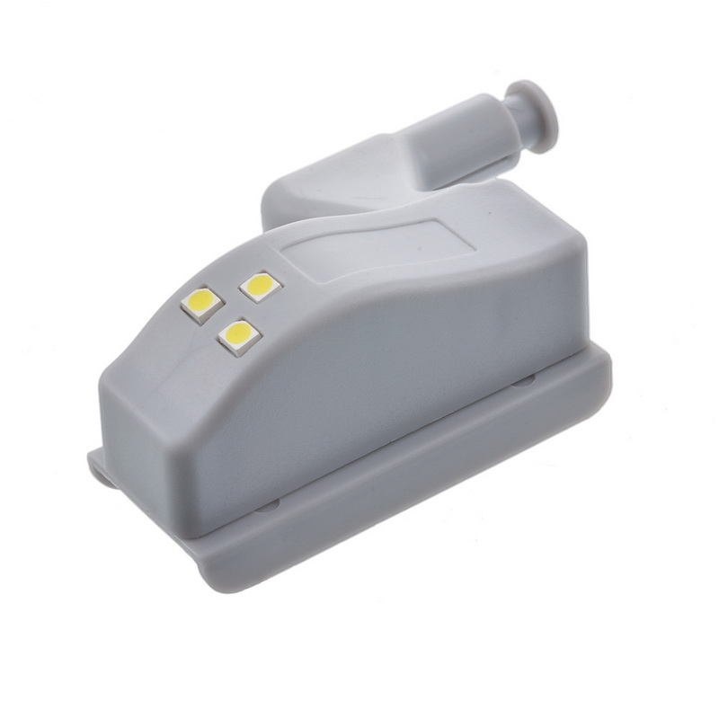 Dozzlor 夜の光 0.25 ワットキャビネットインナーヒンジ LED センサー用寝室リビングルーム食器棚クローゼットワードローブライト