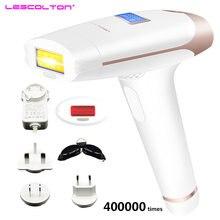 Originele Lescolton T009i Veilig Gebruik Scheermes Gezicht & Body Ontharing Pijnloos Ipl Thuis Pulsed Light Voor Mannen & Vrouwen met Lcd Display