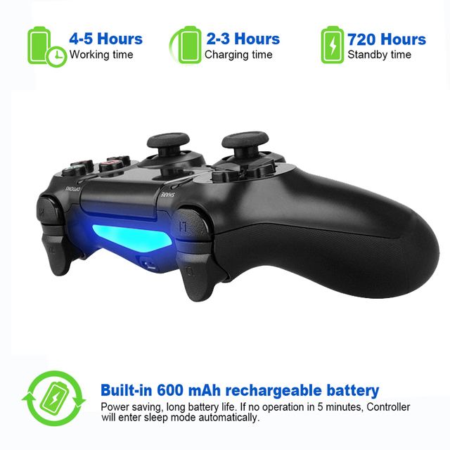 Wireless Bluetooth Game Controller For PS4 Playstation 4 Gamepad Joysticks For PS4 Game Console Support Dual Vibration 6