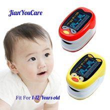Oxímetro De pulso para Dedo para niños, oxímetro De pulso para Dedo, pulsoxímetro médico infantil, medidor De saturación SpO2