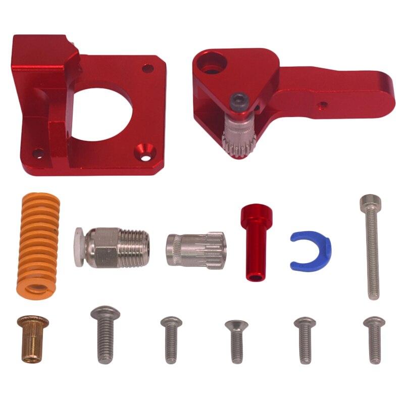 Cr 10 Pro Extruder Dual Gear Metal Extruder Mk8 Bowden Extruder 3D Printer Aluminum Alloy Block Filament 1.75Mm Cnc