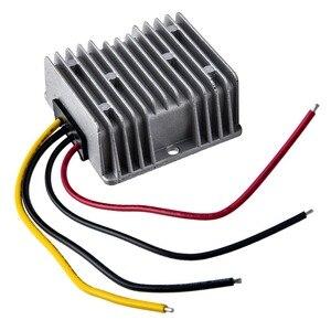 Image 2 - جديد تيار مستمر 24 فولت إلى 12 فولت تنحى 20A 240 واط محول سيارة امدادات الطاقة تيار مستمر وحدة UK 72x72