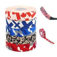 Stick-Tape Hockey Ice-Field Enhances Cloth Badminton Multipurpose Colorful 1roll Sport-Safety
