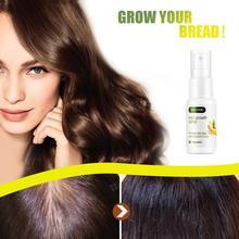 Ginger Hair Growth Solution Nourish Hair Scalp Anti-fork 30ml Spray Hair Nutrient Regrowth Ginger Liquid Product Treatment M9R2