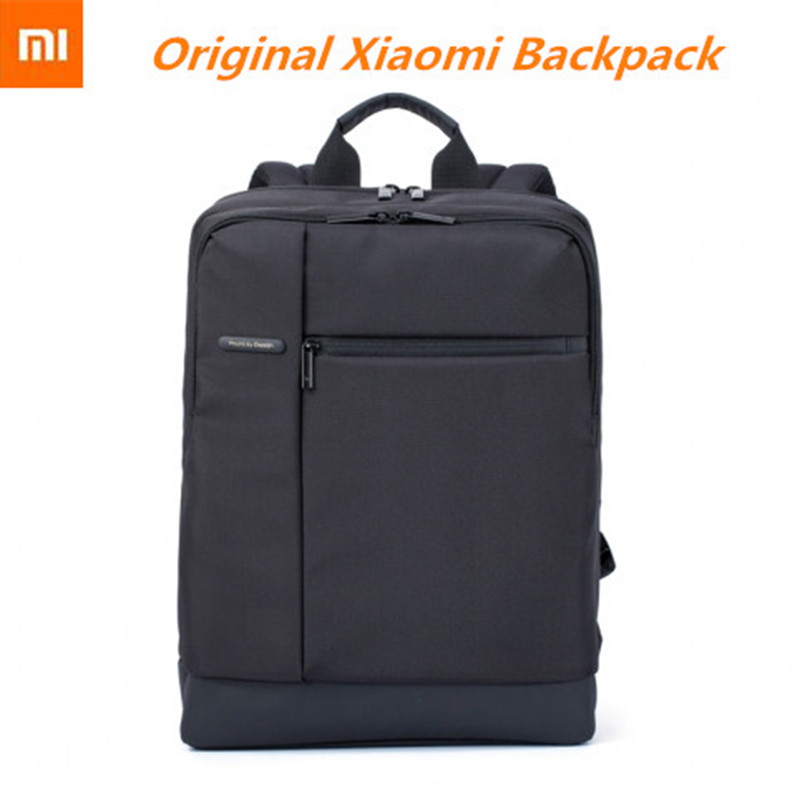 Original xiaomi mijia backpack brief with 18L Capacity Classic Business Backpack for 15 6 inches of computer Viaggio Esterna bag