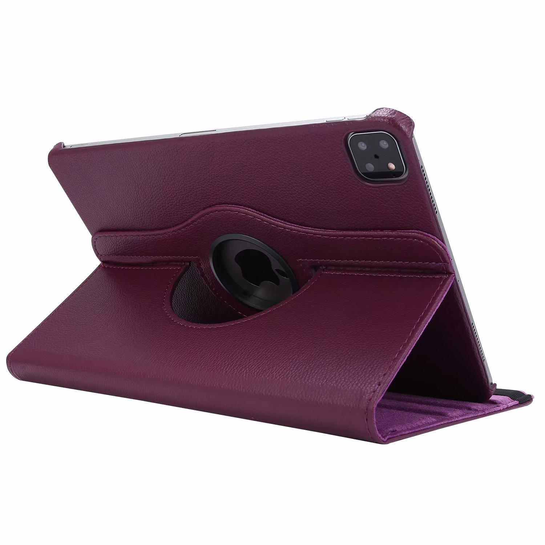 Purple Purple Case for iPad Pro 11 Cover 2021 2020 2018 A2228 A2068 A2230 A2013 A1934 A1980 360